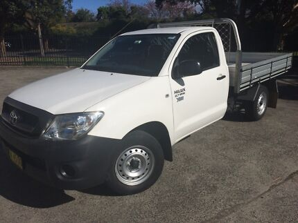2009 Toyota Hilux workmate LOW KMS Randwick Eastern Suburbs Preview