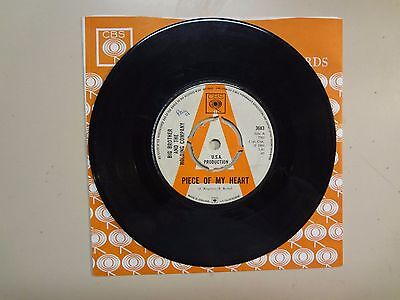 Big Brother   The Holding Company   W Joplin Piece Of My Heart U K  7  68 Cbs Dj