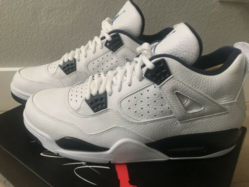 new concept 2faf9 3d7c7 ... SIZE 10.5 WHITE LEGEND BLUE COLUMBIA 314254-107 1 3 11 AIR JORDAN IV 4  RETRO LS SIZE 10.5 WHITE LEGEND BLUE COLUMBIA 314254-107 1 3 11 AIR JORDAN  IV 4 ...