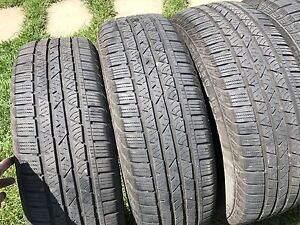 Pneus Continental Cross Contact LX 225/65 R17