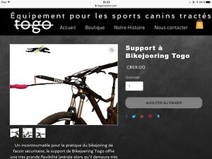 barre/support togo traction pour bikejoring