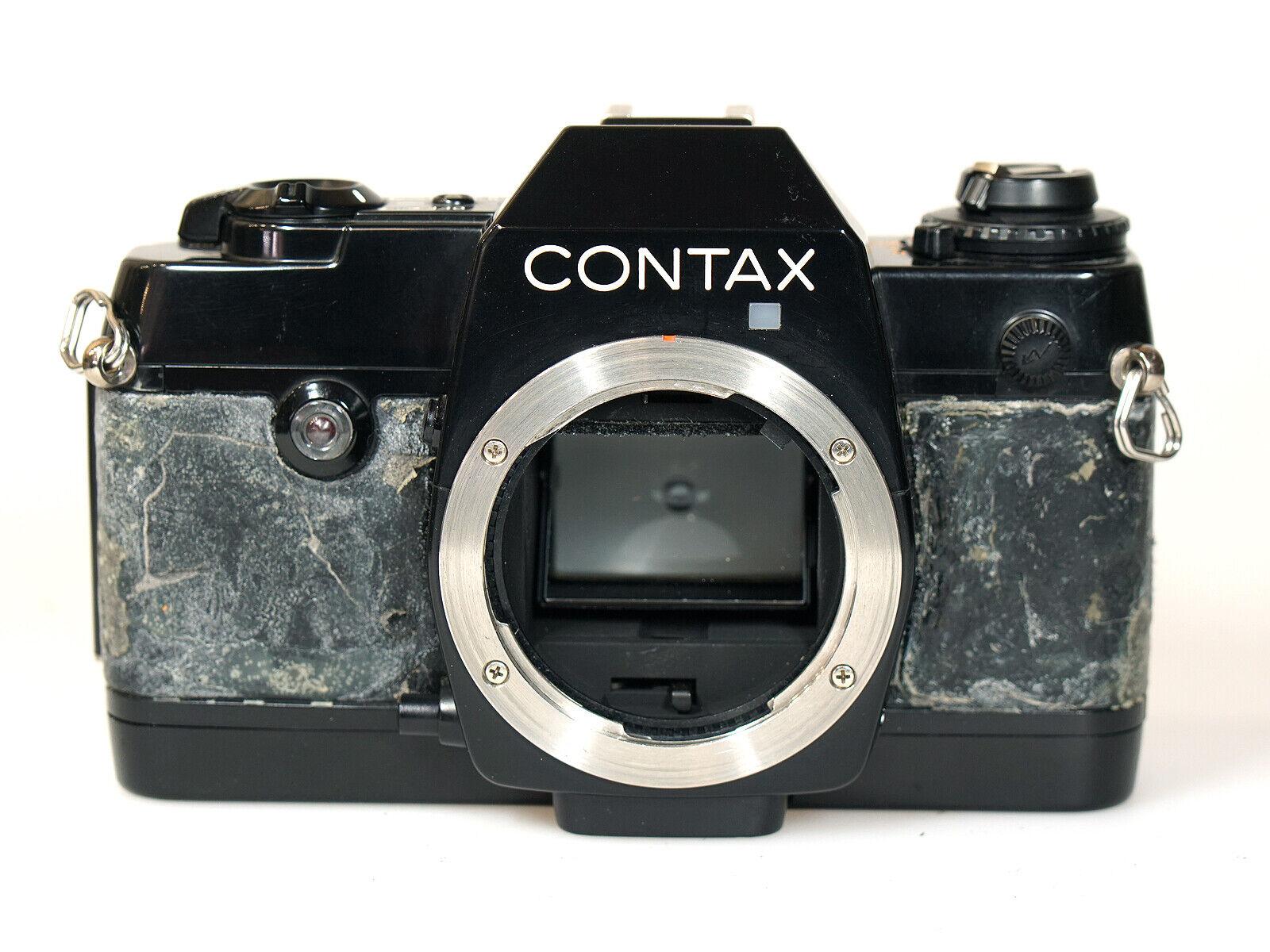 +++ Contax 137 MD Gehäuse Kleinbild Spiegelreflex analog für Wechselobjektiv +++