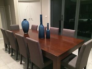 10-12 Seater Solid Timber Table Dural Hornsby Area Preview