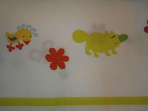 IKEA CRIB SIZE ANIMALS DUVET COVER