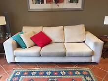 Cream 3 Seater Sofa - Would Suit Share House Bondi Beach Eastern Suburbs Preview