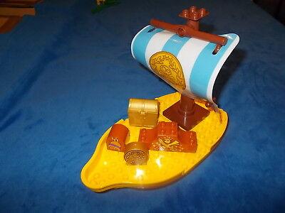 HIFF GROSSES SCHIFF aus 10514 NIMMERLAND BUCKY SCHWIMMT Wow (Bucky Piraten Schiff)
