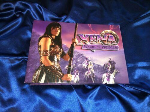 ULTRA RARE Xena Promo Merchandise Creative Request Album From Universal Studios
