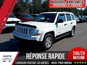 2016 Jeep Patriot Sport, GARANTIE PROLONGER 7 ANS 80 000 KILO