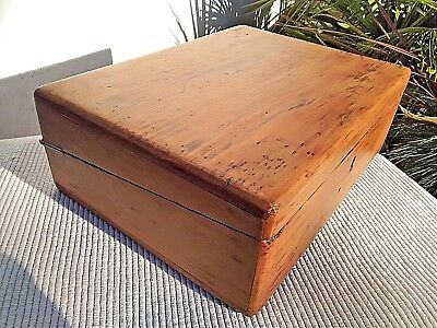 ANTIQUE VINTAGE WOODEN WRITING SLOPE