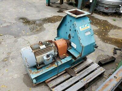 20 Hp Champion Hammermill Hammer Mill Model 11.5x18