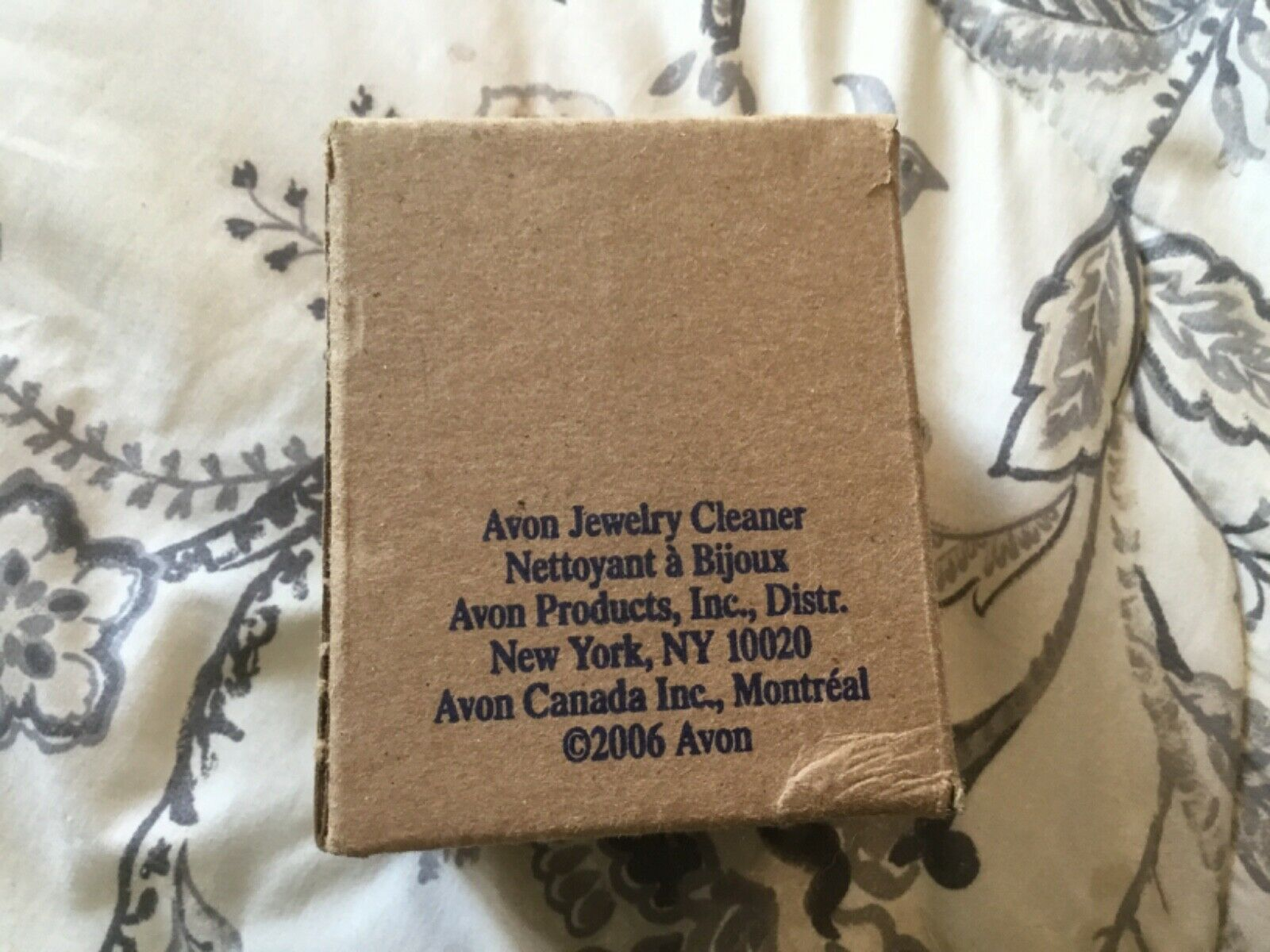 Avon Jewelry Cleaner