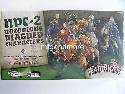 Zombicide Black Plague - NPC 2 Notorious Plagued Characters