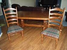Dining Table 9 piece (Must be Sold, make an offer) Moss Vale Bowral Area Preview