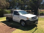 2008 TOYOTA HILUX WORKMATE 4X2 MANUAL UTE $5990 Leederville Vincent Area Preview