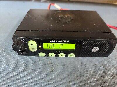 Motorola Pm400 Uhf 64ch 40w Ltr Mobile Radio Aam50rpf9aa3an 438-470 Mhz