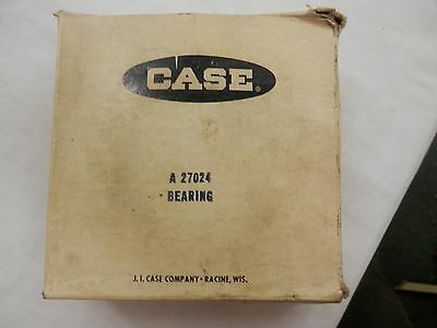 Vintage Nos Case Bearing A 27024 Tractor Parts J I Case Racine Wis. New In Box