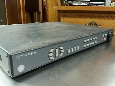 GE DVMRe Triplex DVMRe -10CT-600 Dual 600GB Digital Video Multiplexer Recorder Digitale Multiplexer Recorder