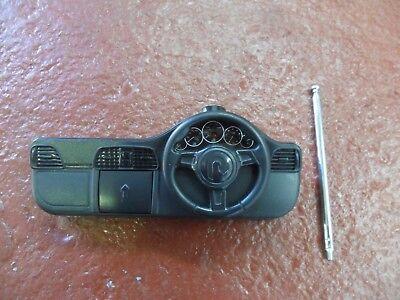 Rastar 2 Channel RC Transmitter 27 mhz Black