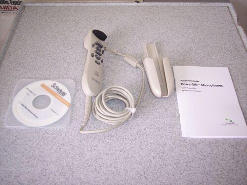 Nuance 0PSHM01-006 Dictaphone PowerMic  Handheld Dictation Microphone / Barcode
