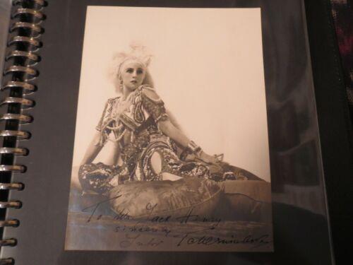 Lubov Tchernicheva Signed Original 1911 Photo Diaghilev Scheherazade Nijnsky