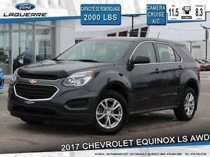 2017 Chevrolet Equinox LS**AWD*CAMERA*GRUISE*GR. ELECTRIQUE*A/C*