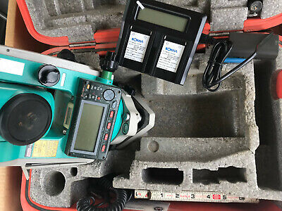 Sokkia Set530r3 Reflectorless Total Station Red-tech Ii Case Charger Batteries