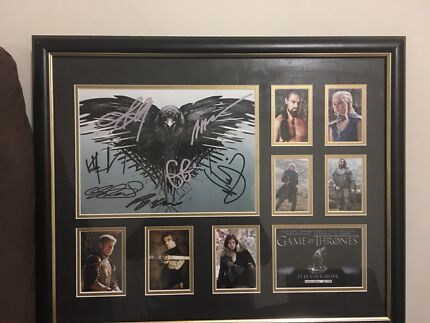 Game of Thrones Limited Edition Framed Memorabilia | Art | Gumtree ...