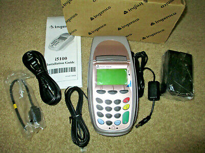 New Ingenico I5100 Pos Credit Card Machine Transaction Terminal Ethernet Dial-up
