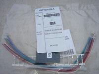 Motorola Hln9242a Gm Serie Accessorio Connettore Gm340 Gm350 Gm300 Cm340 - motorola - ebay.it