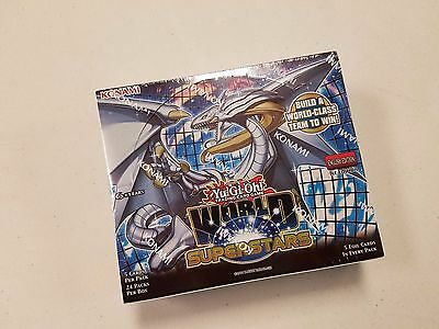 [ NEW & SEALED ] YuGiOh World Superstars 1st Edition Booster  Box (24 packs)