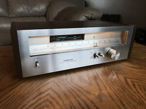 Serviced 1979 PIONEER TX-6800 Tuner Radio Component Japan Made