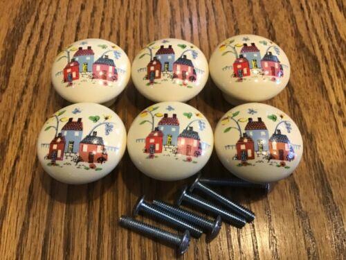 Lot Of 6 International HEARTLAND Drawer Knob Cabinet Pull 10186577