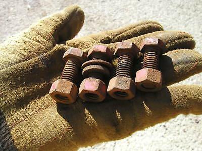 4 Farmall 300 350 400 450 Tractor Eccentric Seat Bolts