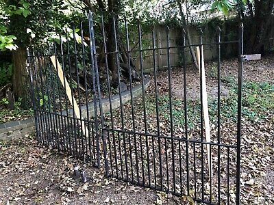 Driveway entrance gates steel railings
