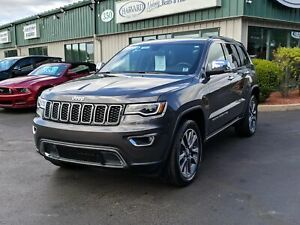 2018 Jeep Grand Cherokee Limited NAVIGATION/PANORAMIC SUNROOF...