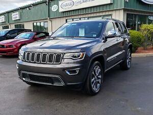 2018 Jeep Grand Cherokee Limited NAVIGATION/PANORAMIC SUNROOF...