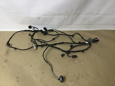 BMW  7 SERIES F01 FRONT BUMPER PARKING PDC WIRING LOOM 9211839  2011