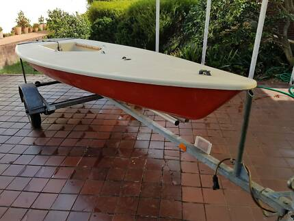 Laser Sailing Dinghy + Trailer Complete Package Blakehurst Kogarah Area Preview