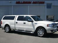2007 Ford F-150 LARIAT CREW CAB 4X4 / SUPERCHARGED / NAVI