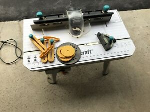 Mitre and router table