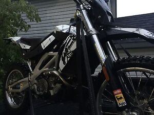 2008 Arillia Rxv450 dual sport on/off road blue plated!!