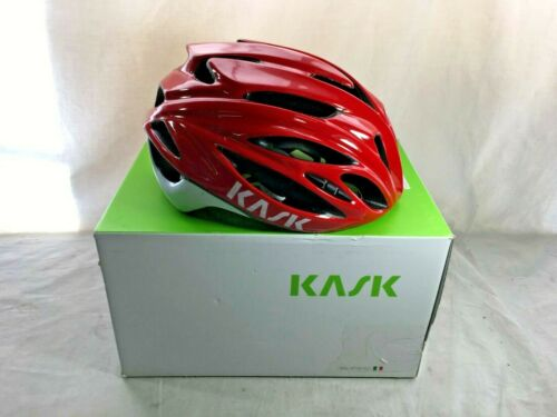 Kask Rapido Road Bike Helmet, Red, L