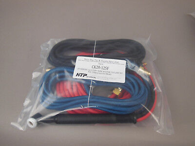 12.5 Wp-20 Water Cooled Tig Torch Miller Syncrowave 250 350 Ck20-12sf Made Usa