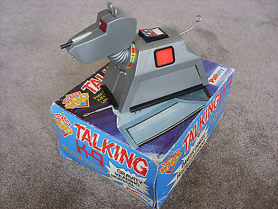 'Doctor Who' - TALKING K9 - 1970s - BOXED PALITOY - Vintage - RARE