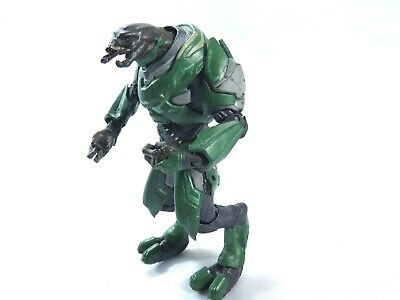 Halo Reach Series 3 Green Elite Officer TMP toys  jointed Action Figure 7 inch