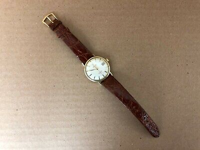 Omega SeaMaster De Ville Automatic Date 14K Gold Filled Plated 34mm Case