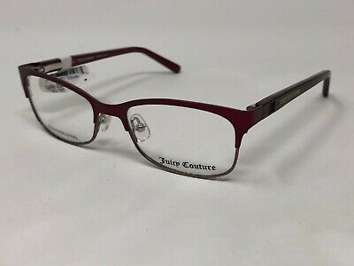 JUICY COUTURE KIDS Eyeglasses Frame JU922 47-15-125 Burgundy/Brown VE41 Juicy Couture Brown Eyeglasses
