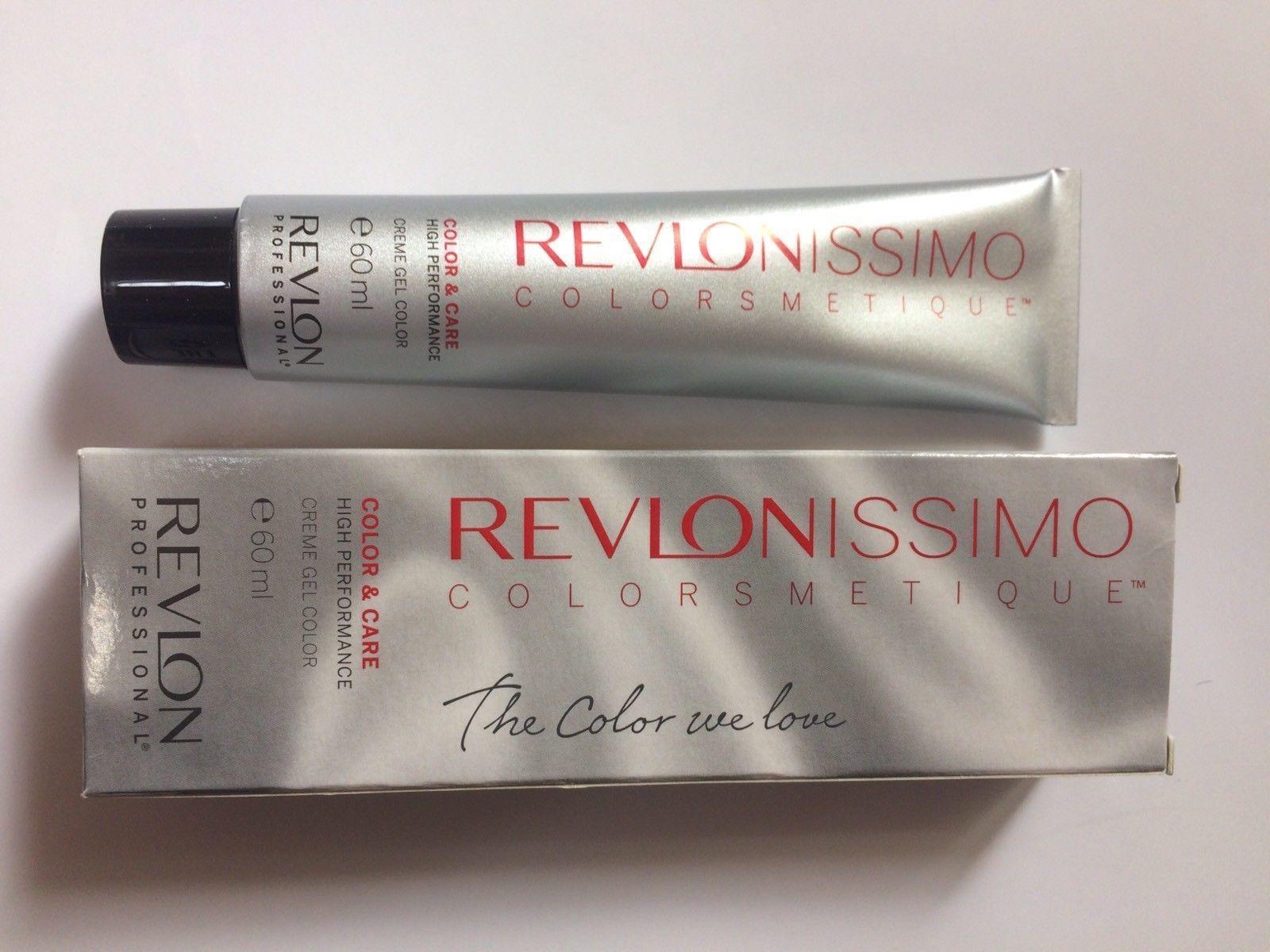 REVLON COLOR  60 ml Haarfarbe  Revlonissimo Gelcolor  8.04