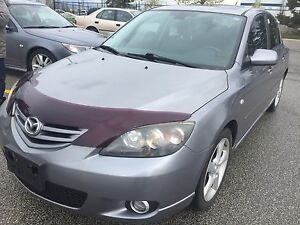 2005 Mazda Mazda3 sport GT certified and Etested