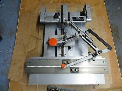 New Hermes Engravograph Engraving Machine W35-310 Brass Font Set
